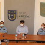 Gradonačelnik Mario Rajn upriličio prijem za djelatnike križevačke policije povodom blagdana sv. Mihovila