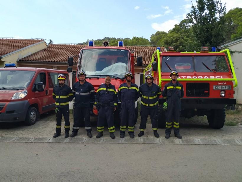 Vatrogasci Koprivničko-križevačke županije odali počast kolegama stradalima na Kornatima