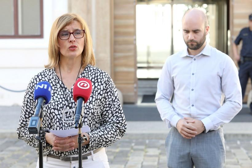 Dvije glavne osobe za pregled potpisa s referenduma, Uskokovi osumnjičenici
