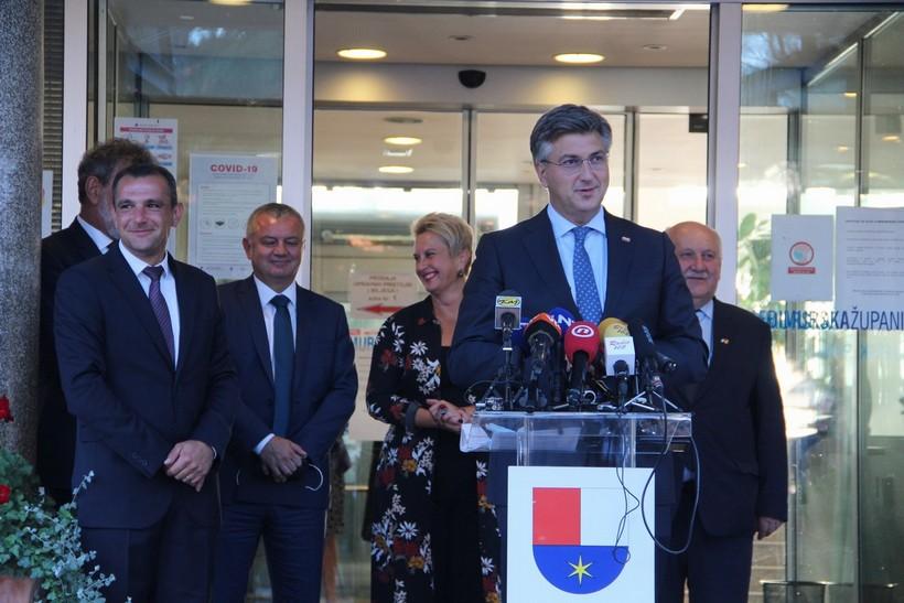Posjet predsjednika Vlade Republike Hrvatske Andreja Plenkovića Međimurskoj županiji (10)