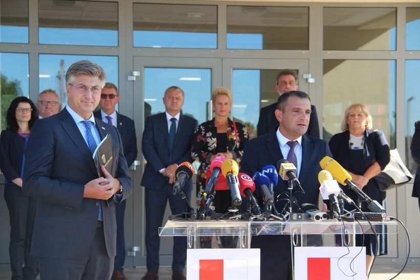 Posjet predsjednika Vlade Republike Hrvatske Andreja Plenkovića Međimurskoj županiji (4)
