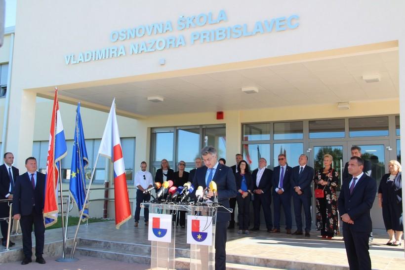 Posjet predsjednika Vlade Republike Hrvatske Andreja Plenkovića Međimurskoj županiji (6)