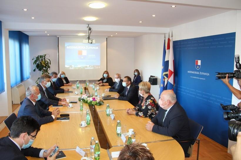 Posjet predsjednika Vlade Republike Hrvatske Andreja Plenkovića Međimurskoj županiji (9)