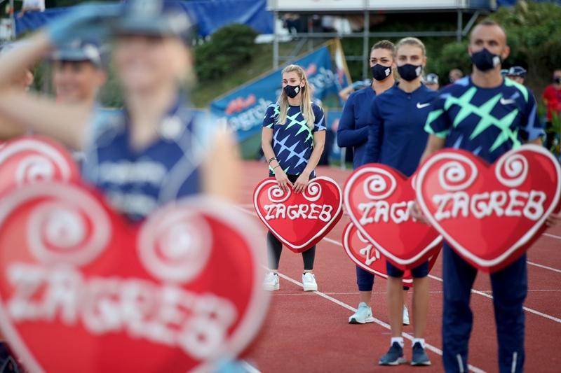 Započeo atletski miting u Zagrebu: Svečano otvoren 70. memorijal Borisa Hanžekovića