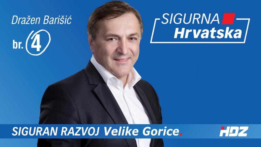 Gradonačelnik Velike Gorice, Dražen Barišić nije uhićen, ali je osumnjičen: 'Kao saborski zastupnik, ima imunitet'