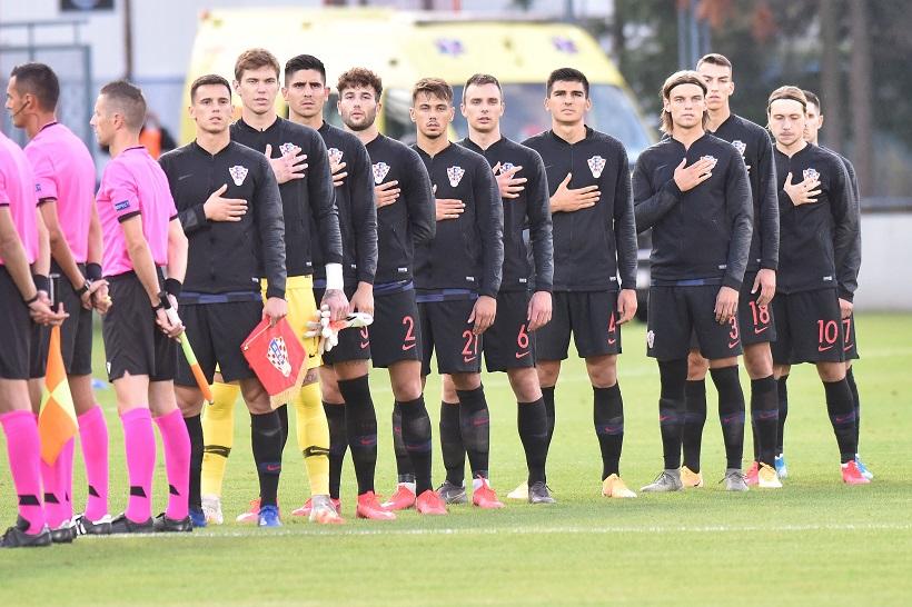 Varaždin: Kvalifikacijska utakmica za odlazak na Europsko prvenstvo U21, Hrvatska - Grčka