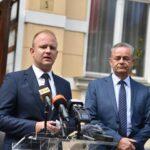 Koren i Jakšić zadovoljni nakon sastanka s premijerom: 'Dobili smo izvođača radova za gradnju brze ceste do Kloštra Vojakovačkog'