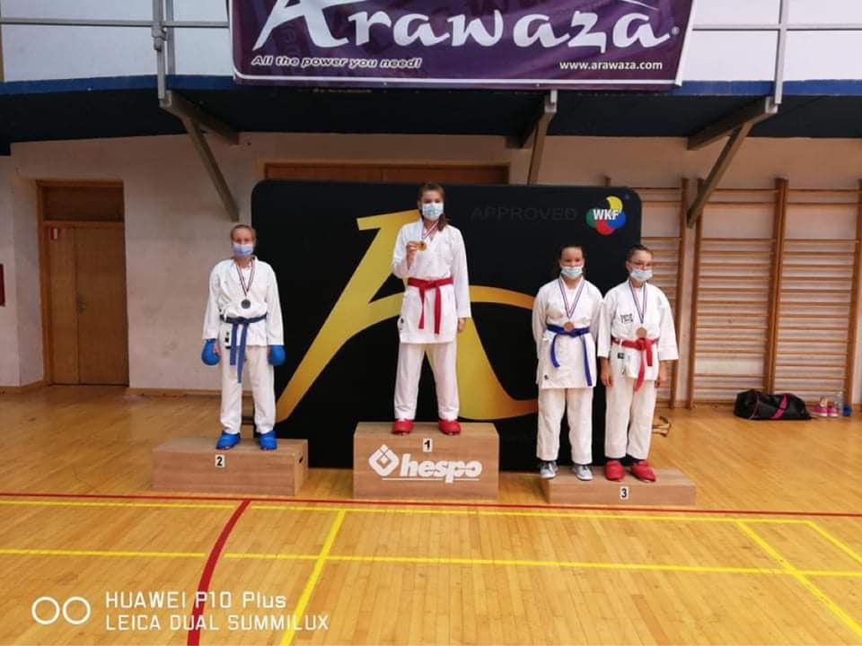 KARATE – MEĐIMURJE OPEN Iva Katalenac osvojila dvije medalje