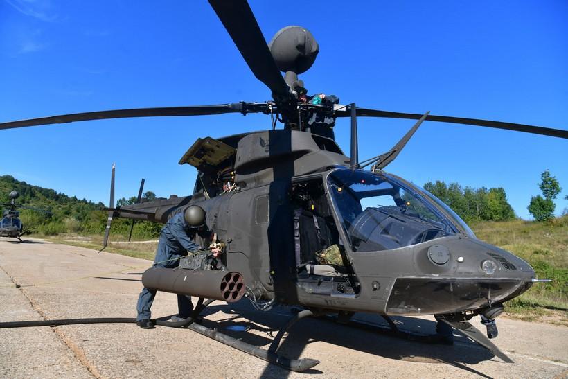 Provedena bojna gađanja i raketiranja iz helikoptera Kiowa Warrior