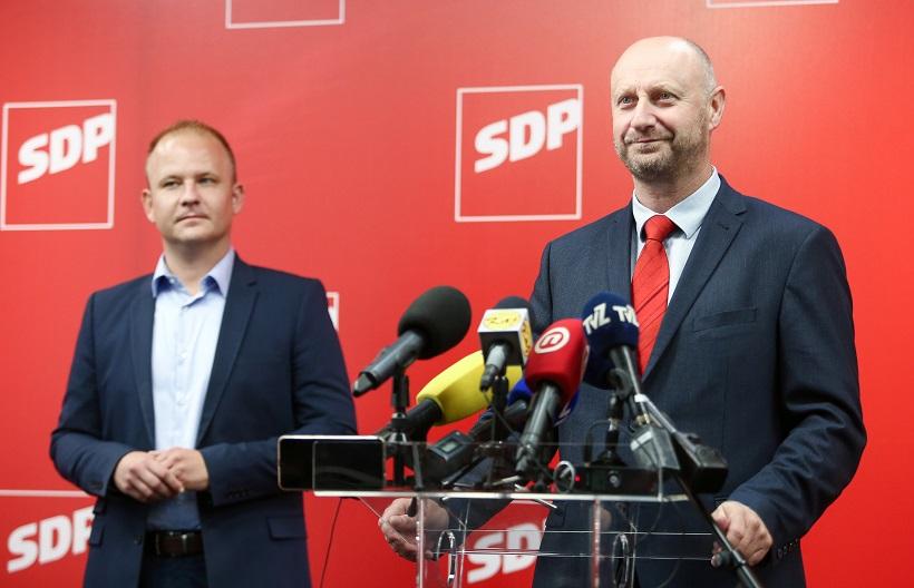 Zagreb: Konferencija za medije Željka Kolara, kandidata za čelnika SDP-a