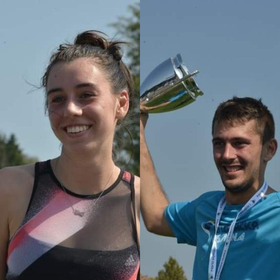 🖼️ KRIŽEVAČKA OSMINA Marcela Gudić i Ognjen Mergon pobjednici križevačke utrke