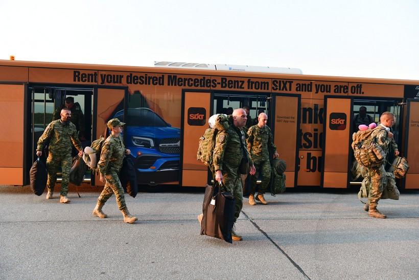 Svečani doček 12. hrvatskog kontingenta iz misije Resolute Support u Afganistanu