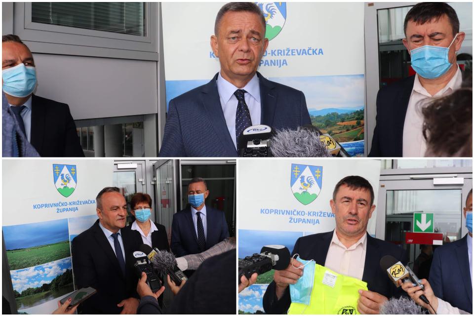 Održan sastanak ravnatelja osnovnih i srednjih škola i župana Darka Korena, podijeljeni prsluci za prvašiće
