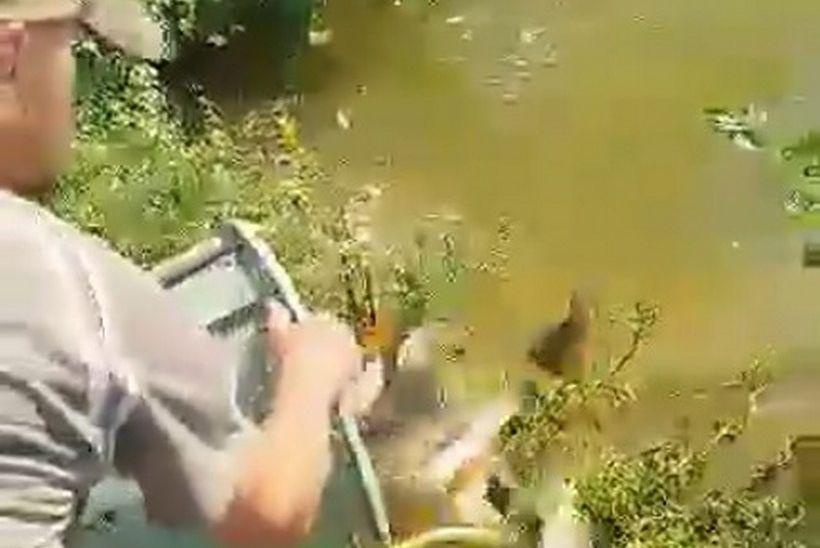 🎦 Poribljavanje na jezeru Kapela u Prigorju