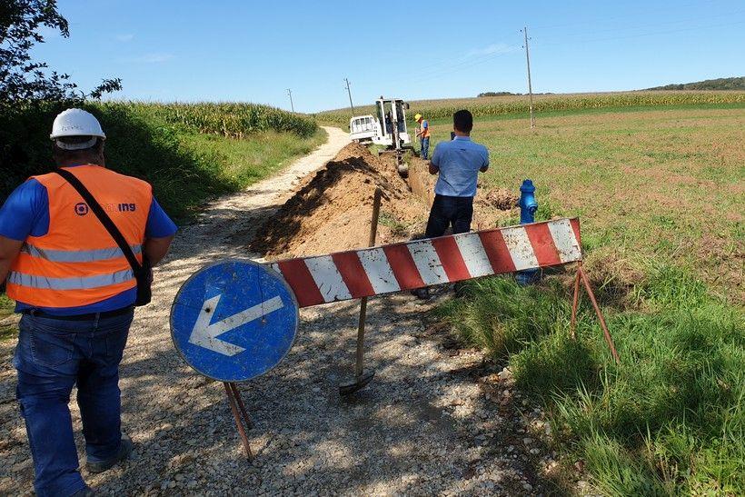 Počeli radovi na proširenju vodovodne mreže u općini Sokolovac vrijednosti 2,5 milijuna kuna