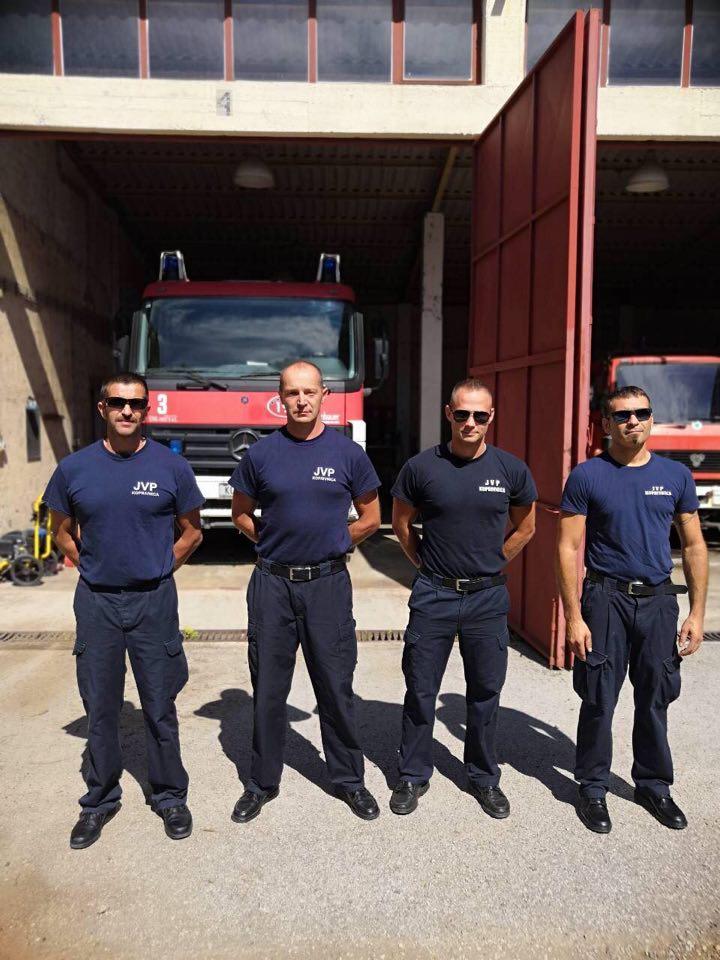 Na Velikom Brijunu u tijeku šesta smjena dislokacije koprivničkih vatrogasaca