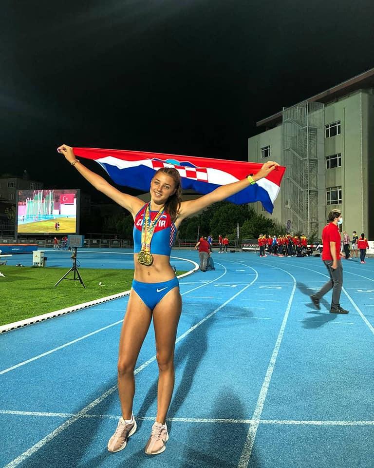 ATLETIKA – Veronika Drljačić prvakinja Balkana i na 200 metara