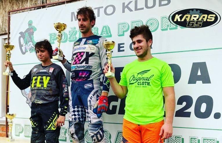 Hrvoje Karas prvak Hrvatske u motocrossu u MX2 klasi