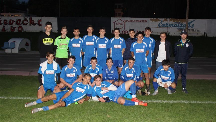 NOGOMET Juniori Radnika Križevci osvojili županijski kup pobjedom nad Graničarom