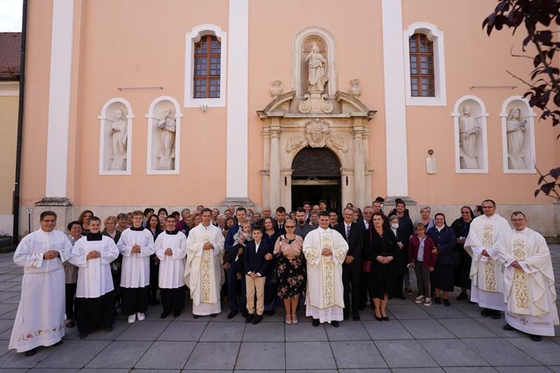 Biskup Bože Radoš zaredio za đakona Petra Krašeka iz Ivanca