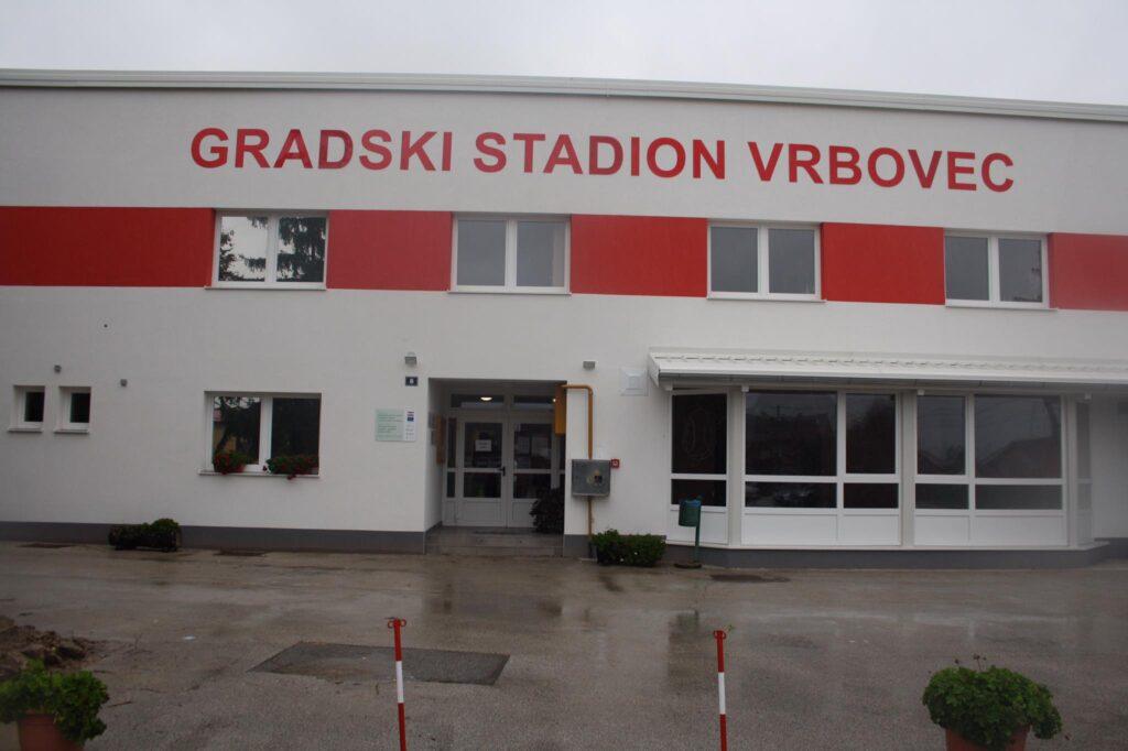 Zgrada Gradskog stadiona u Vrbovcu zasjala u novom ruhu