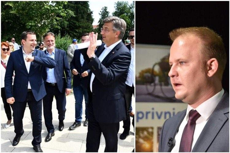 DVOSTRUKA MJERILA Gradonačelnik Jakšić u samoizolaciji, a šef HSLS-a blizak HDZ-u u 'pasivnom nadzoru'
