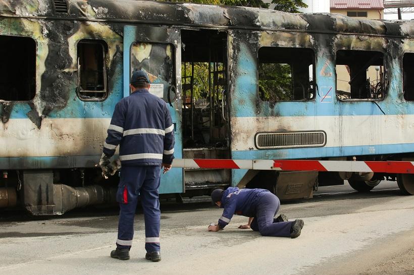 Poznat uzrok požara na putničkom vlaku
