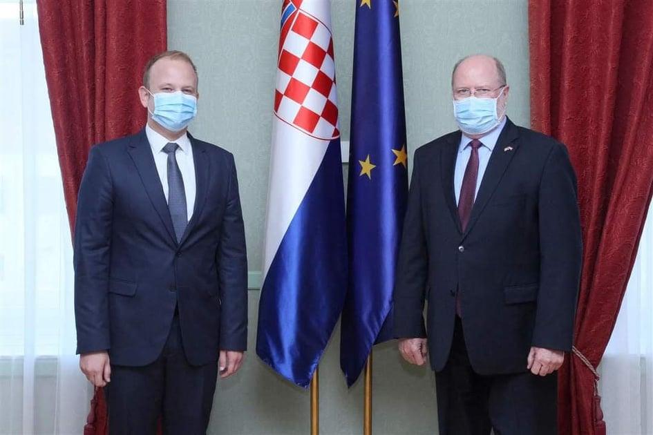 Mišel Jakšić razgovarao s veleposlanikom SAD-a o stanju u pravosuđu