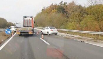 Prometna nesreća usporila promet; na terenu hitna pomoć