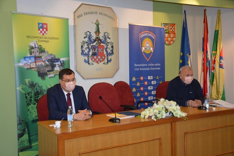 U Bjelovaru se mobilizira objekt za smještaj asimptomatskih bolesnika