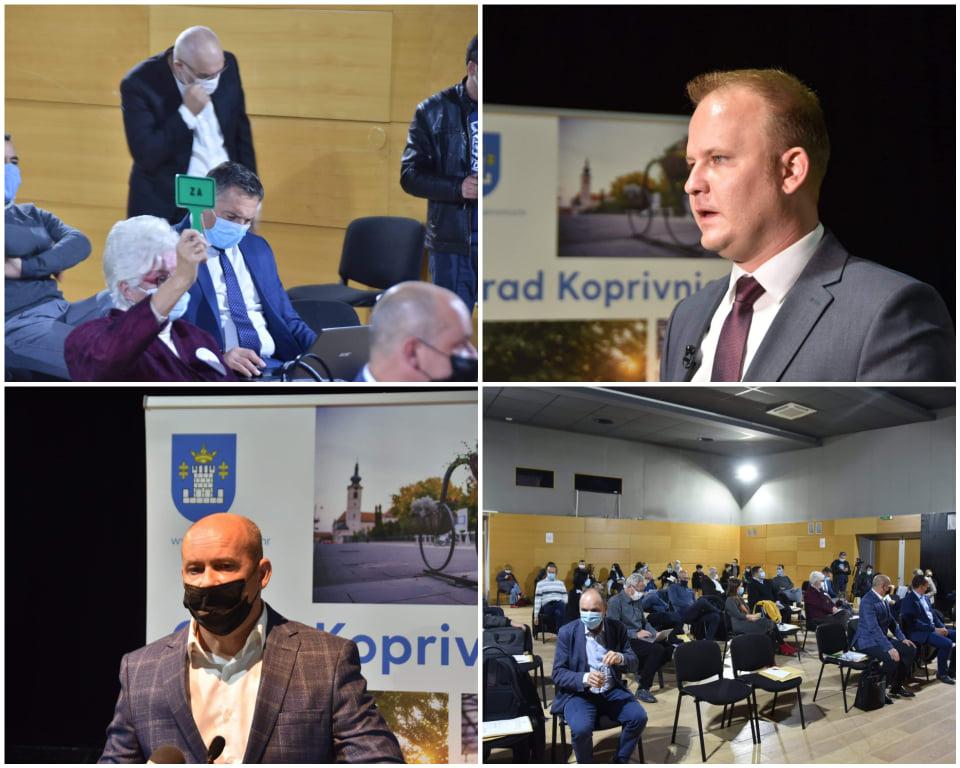 Gradonačelnik Jakšić: 'U top 10 gradova smo po povlačenju EU sredstava, a zaduženost grada danas je 10 milijuna kuna'