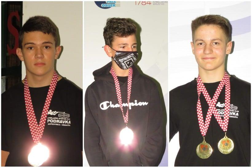 Strijelci Streljačkog športskog kluba Podravka postigli dobre rezultate na 2. Turniru olimpijskih nada