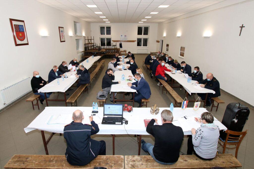 Održana sjednica Predsjedništva, Zapovjedništva i Nadzornog odbora VZ Koprivničko-križevačke županije