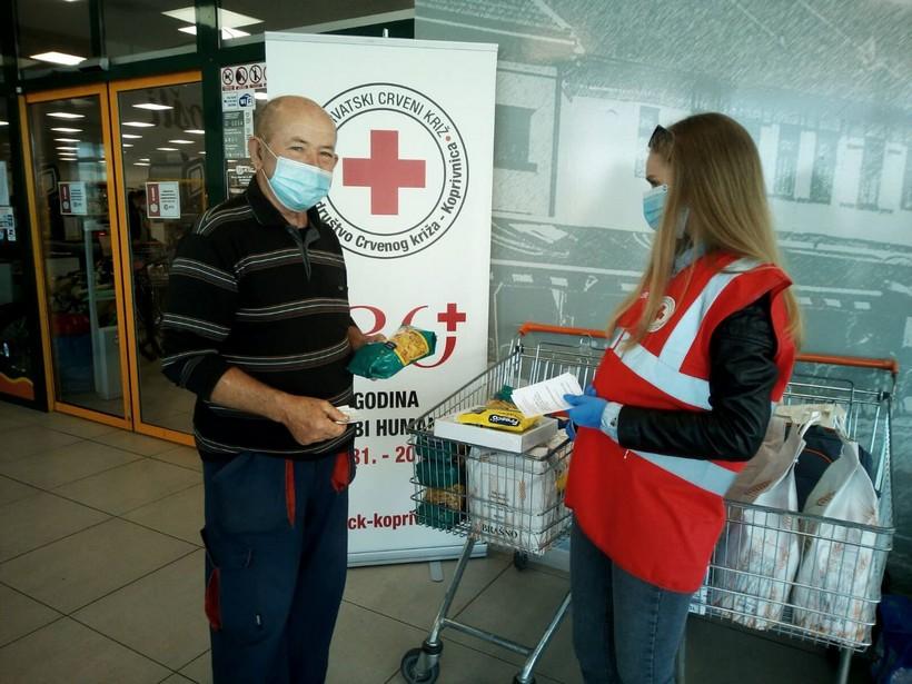 U Robnom centru KTC u Koprivnici prikupljeno 100 kilograma hrane
