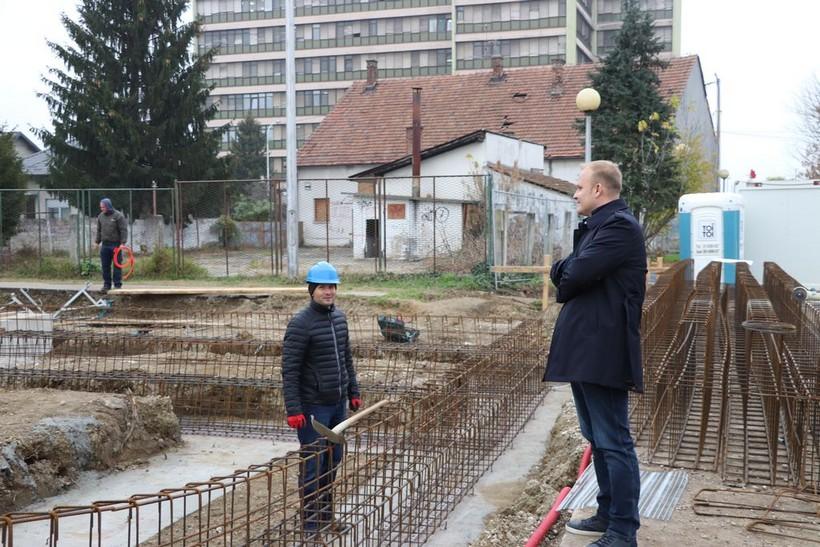 Nova sportska dvorana u Koprivnici 'raste' iz dana u dan