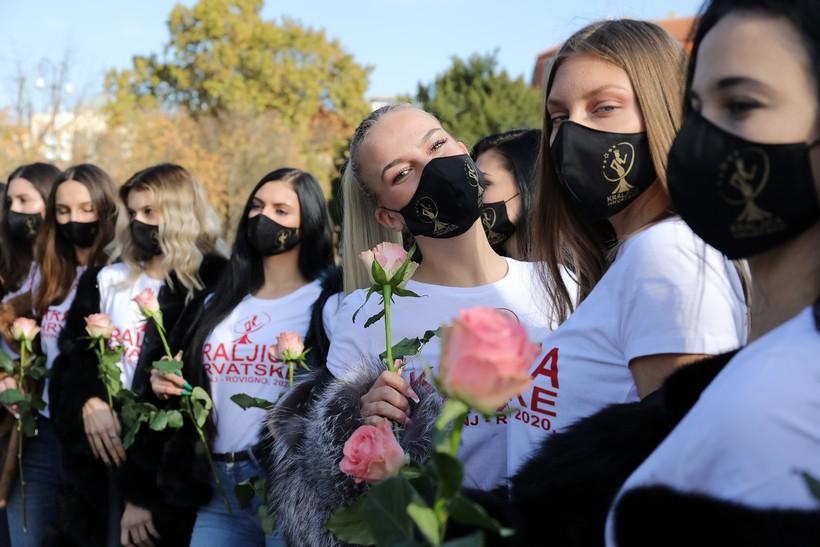 Predstavljene 'Kraljice Hrvatske'; 14 djevojaka natjecat će se za laskavu titulu
