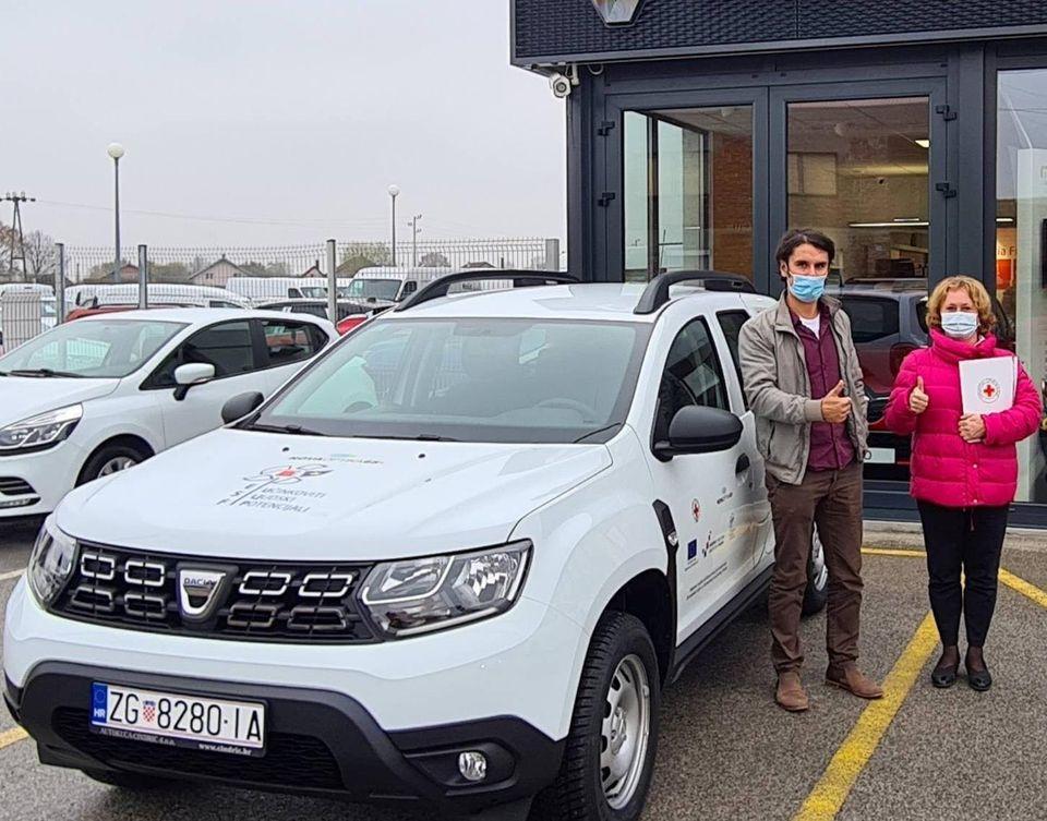 Gradsko društvo Crvenog križa Vrbovec dobilo vozilo za prijevoz starih osoba