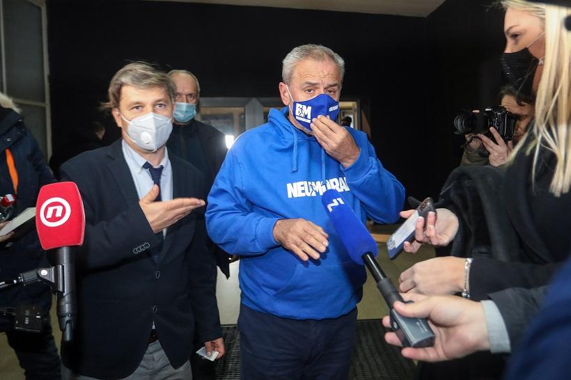 Milan Bandić stigao na premijeru Kumeka
