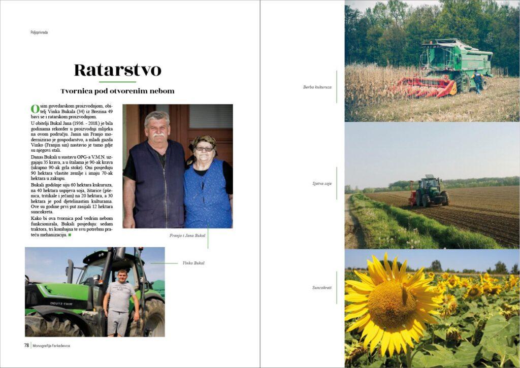 Općina Farkaševac tiskala monografiju autora Dragana Vickovića