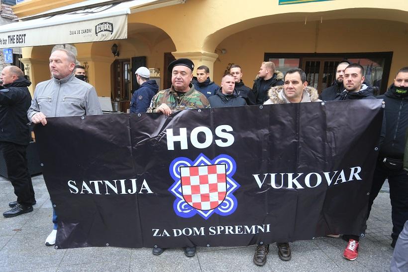 I pripadnici HOS-a stigli su u Vukovar