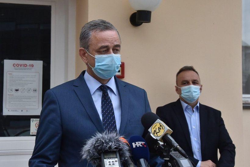 Župan Koren: 'Danas smo došli do izuzetno bitnog momenta u borbi protiv pandemije koronavirusa'