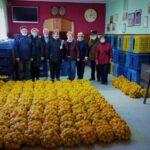 Gradska udruga umirovljenika Dugo Selo nabavila mandarine za svoje članove