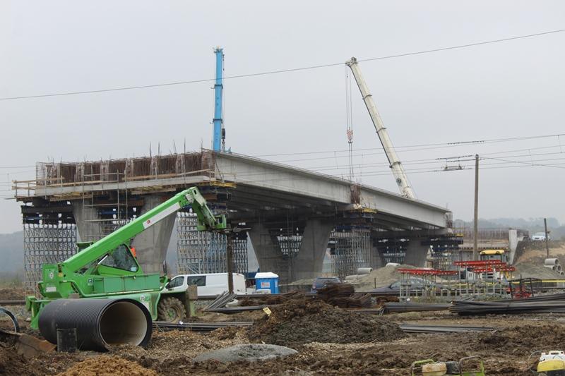 Napreduju radovi na gradnji križevačkog nadvožnjaka, sljedeći mjesec započinje izgradnja spoja u Gundulićevoj ulici