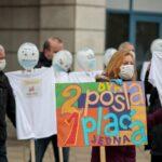 Sindikat Preporod na prosvjedu zatražio rješavanje problema nastave u pandemiji