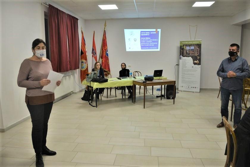 """U Svetom Petru Orehovcu održana tribina u sklopu projekta """"Kuća ideja-prostor zajedništva"""""""
