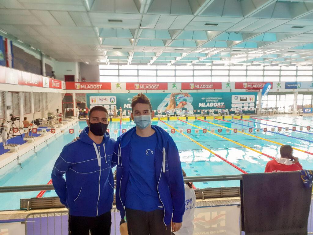 48. međunarodni plivački miting Mladost; odlični rezultati plivača PK Cerine