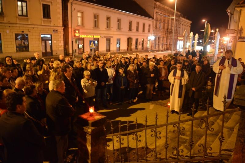 Sjećanje na žrtvu Vukovara u Križevcima