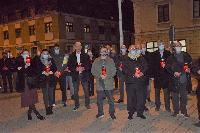 🖼️ Sjećanje na žrtvu Vukovara i Škabrnje u Križevcima