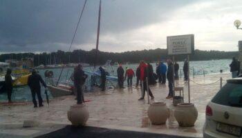 🎦 Olujni vjetar već dva dana radi velike probleme u Istri i Dalmaciji