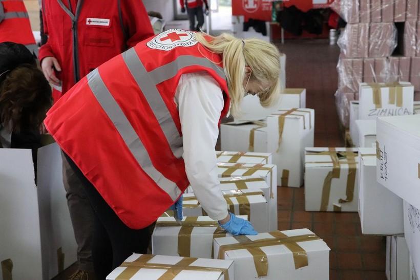 Crveni križ ovoga tjedna počinje s isplatom novčane pomoći na Banovini